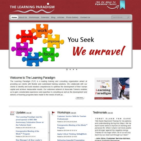 The Learning Paradigm