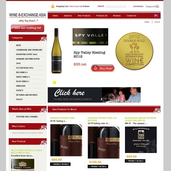 Wine Exchange Asia